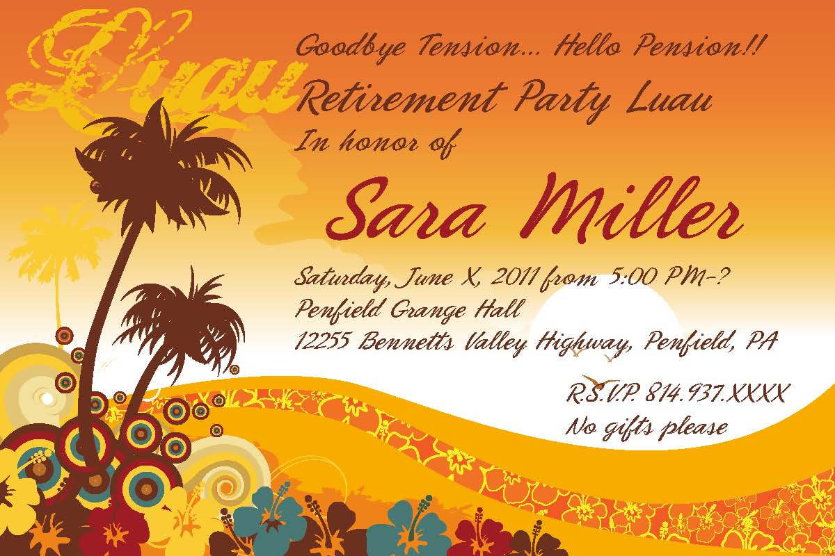 retirement celebration invitation template com printable retirement party invitations templates