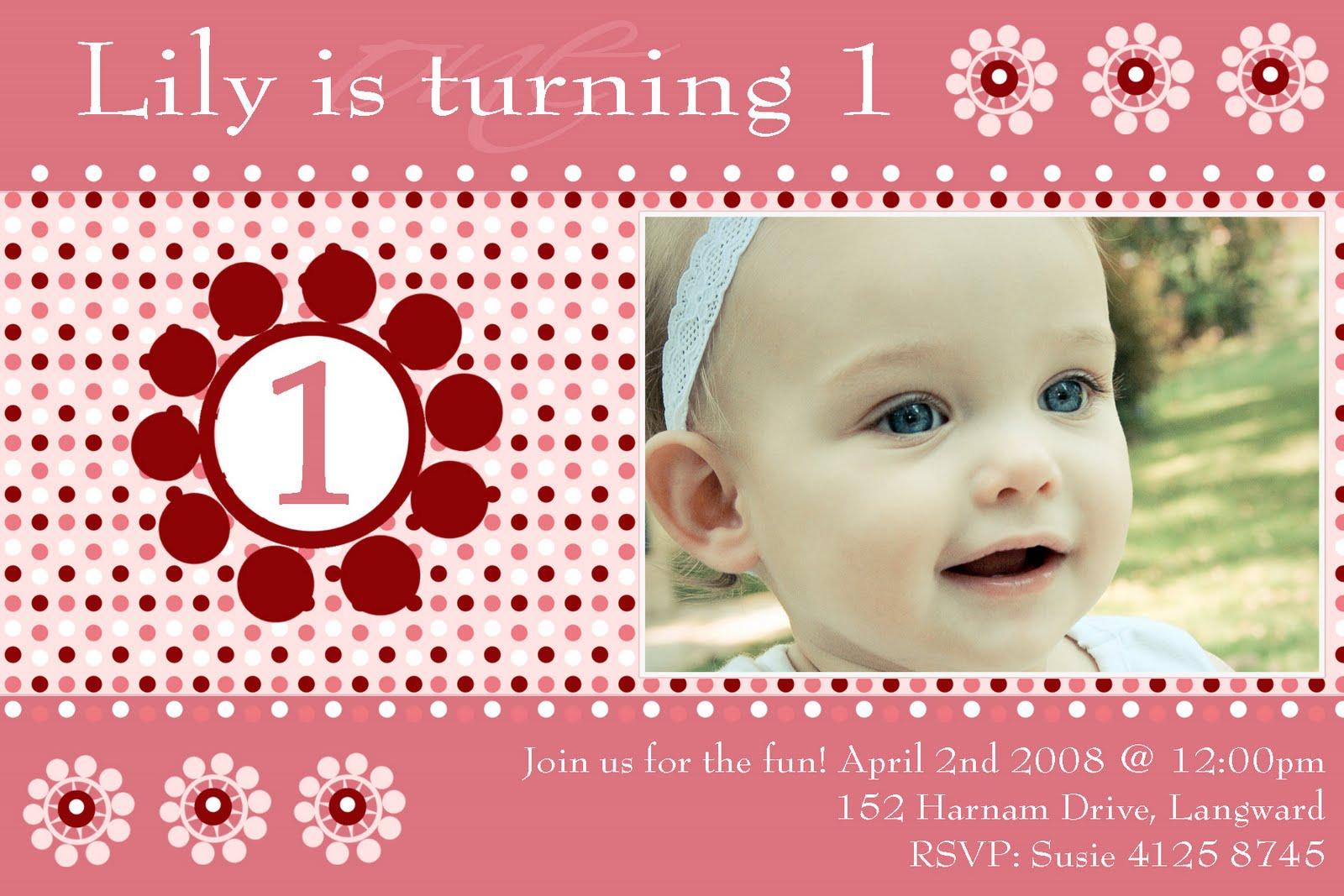 Birthday Invitations For Girls