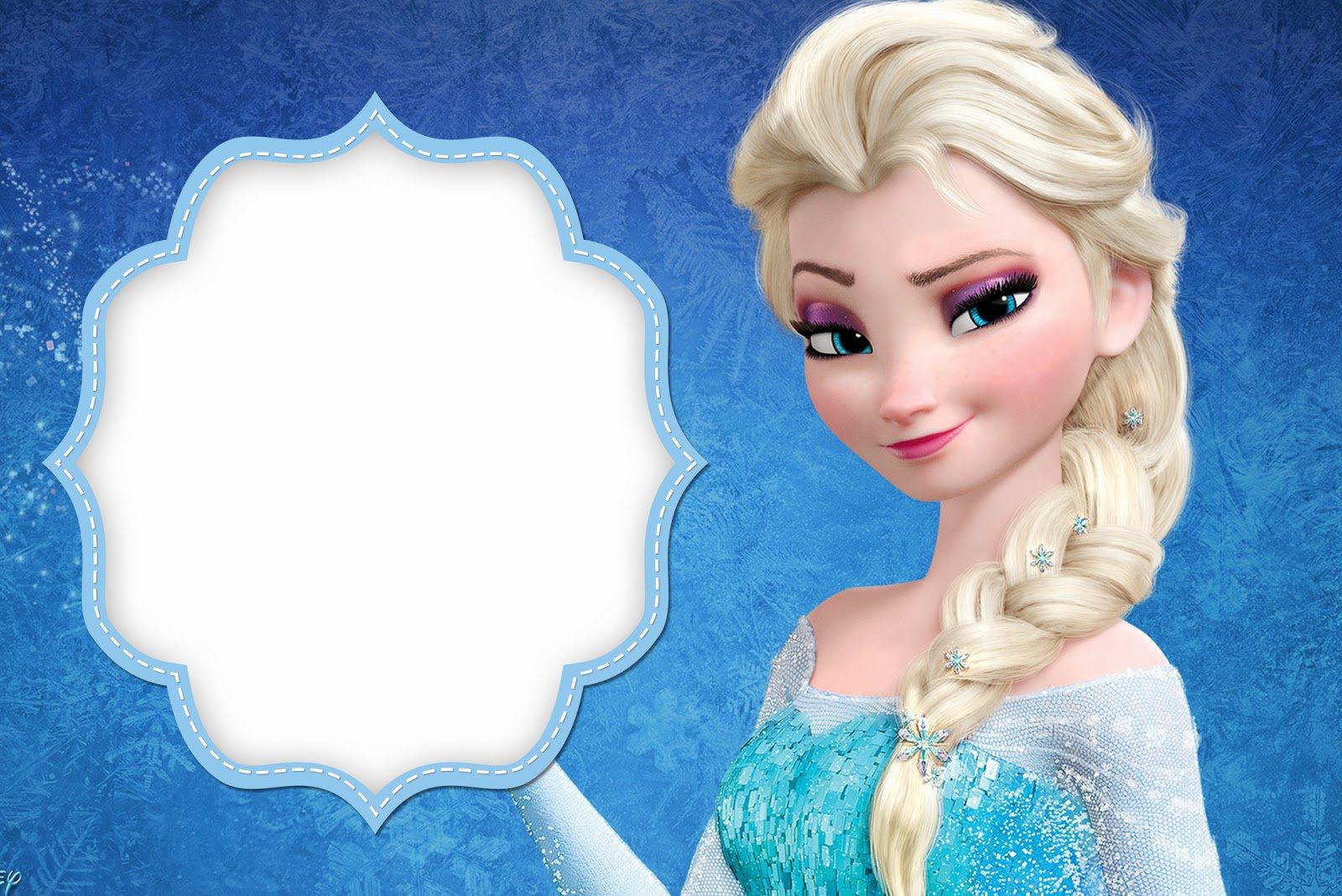 Birthday Invitations Printable Frozen