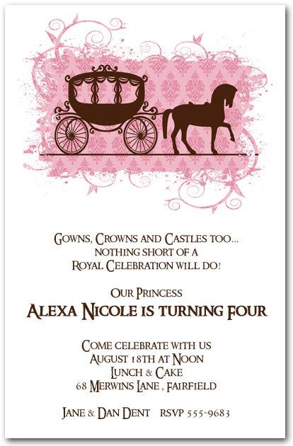 Birthday Party Invitations Printable Free Horses 2018