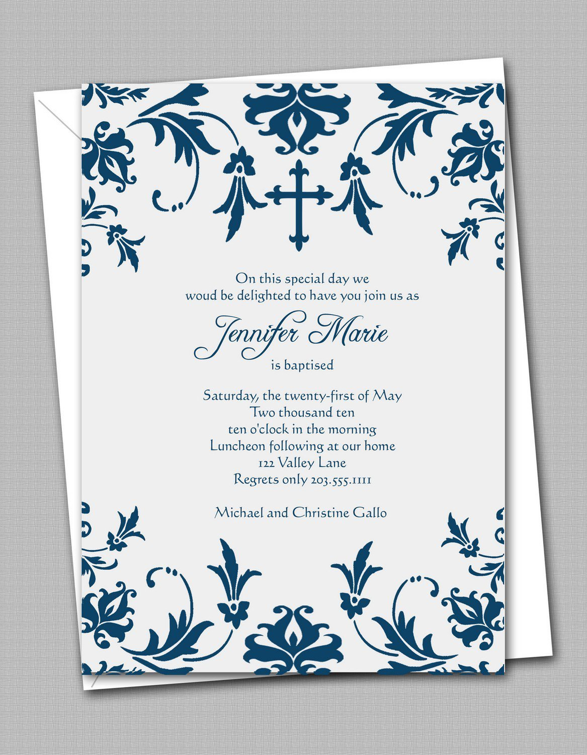 Catholic Confirmation Invitations Printable