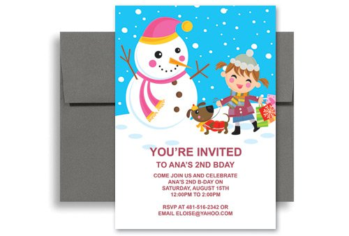 Children 's Birthday Invitations Free Printable 2016