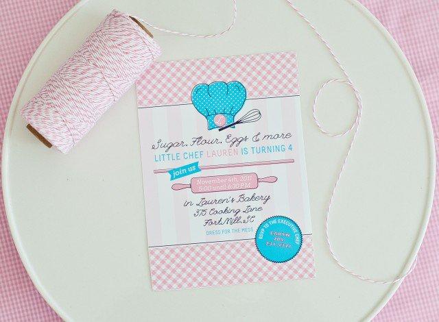 Children 's Birthday Invitations Free Printable