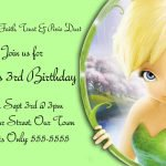 Disney Tinkerbell Printable Invitations