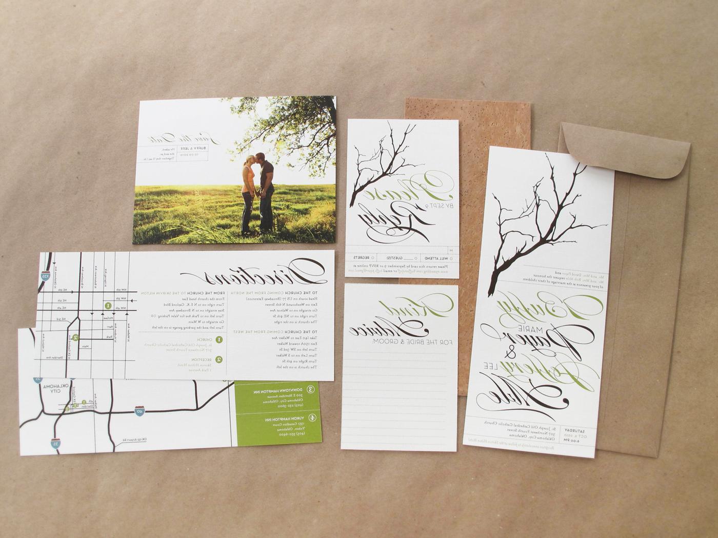 Do It Yourself Printable Wedding Invitation Kits