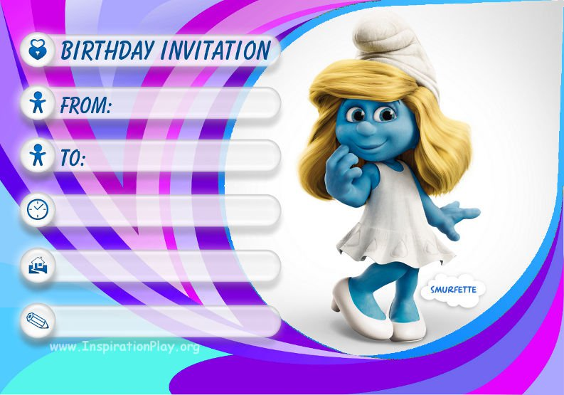 Free Birthday Invitation Templates For Kids