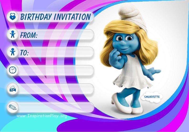 Free Birthday Invitation Templates For Kids