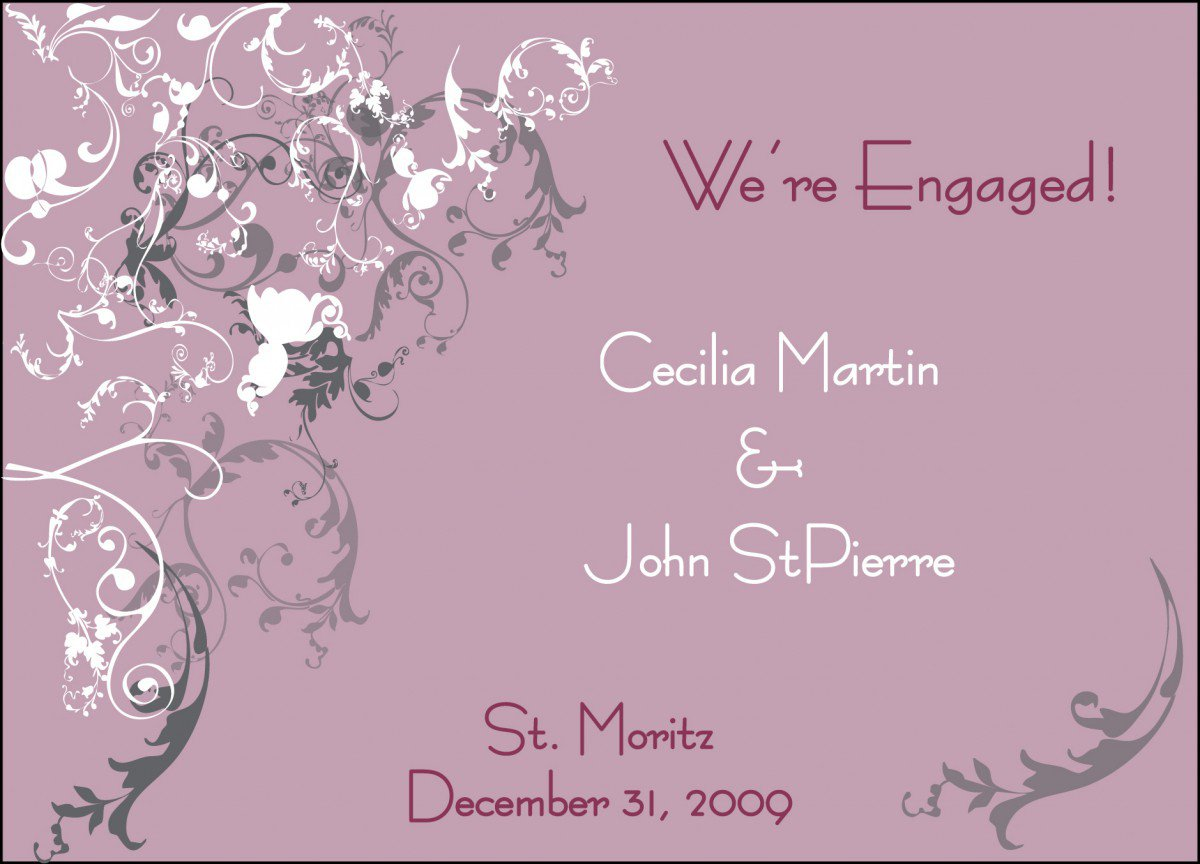 Free Engagement Invitation Templates Printable 2016