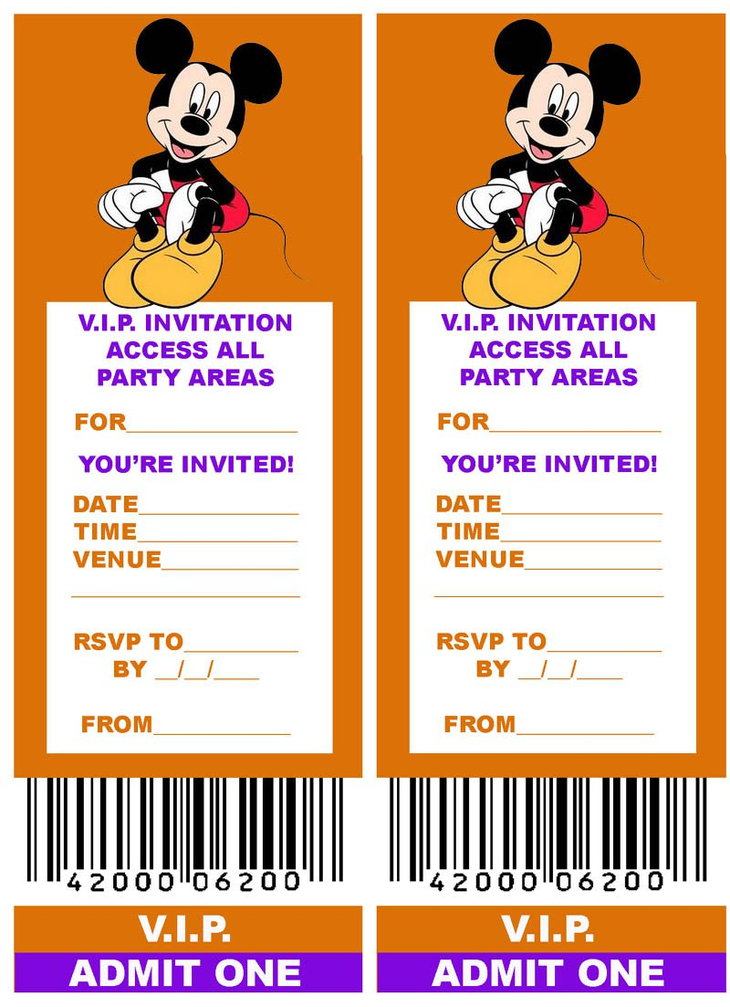 Free Girls Party Invitations To Print 2015