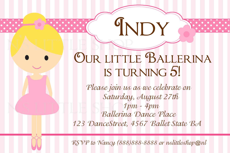 Free Kids Birthday Party Invitations To Print