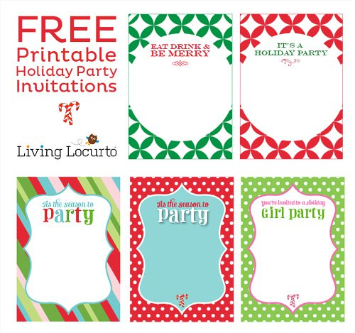 Free Kids Invitations Printable 2016