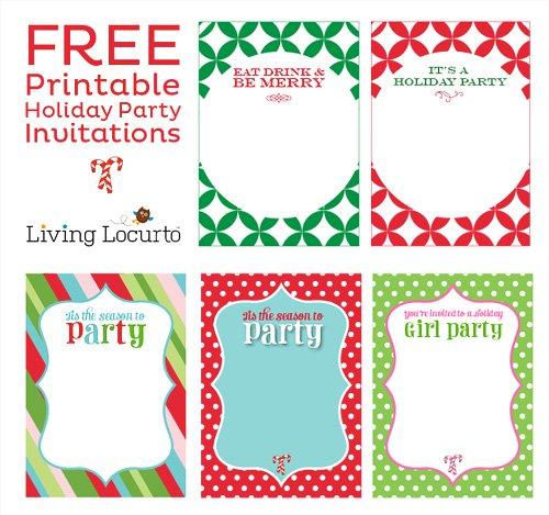 Free Kids Invitations Printable 2016