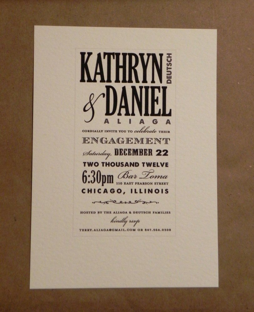 Free Online Printable Engagement Party Invitations