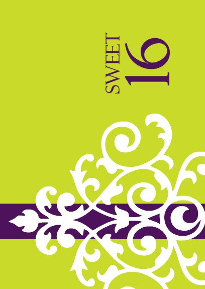 Free Printable 16th Birthday Invitations 2015