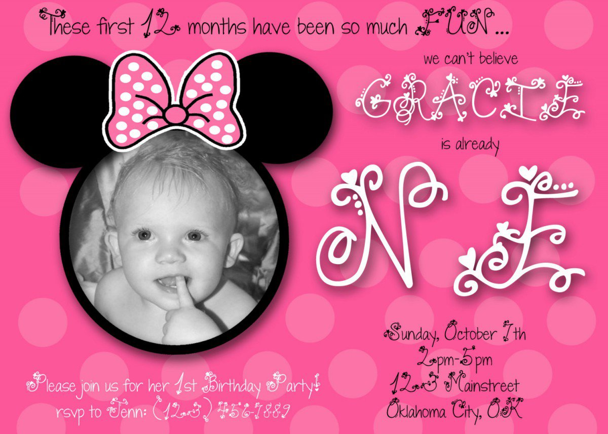 Free Printable 1st Birthday Princess Invitations 2016