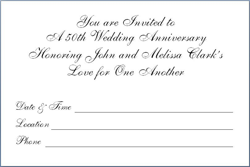 free printable 50th birthday party invitation templates, Birthday invitations