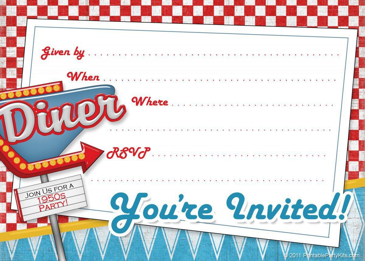 Dinner Party Invitation Template gangcraftnet