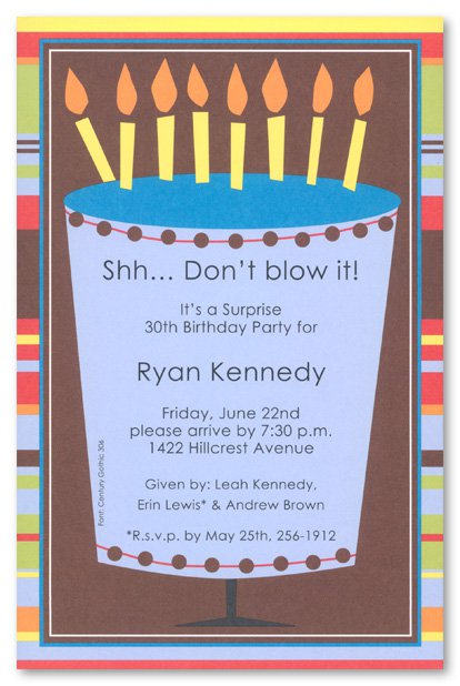 Free Printable 50th Surprise Party Invitations 2015