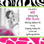 Free Printable Baby Birthday Invitation Cards