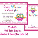 Free Printable Baby Shower Invitations And Thank You Cards