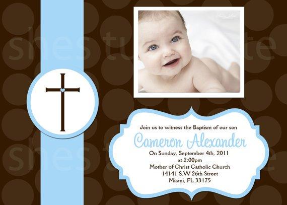 Free Printable Baptism Invitations Templates 2016