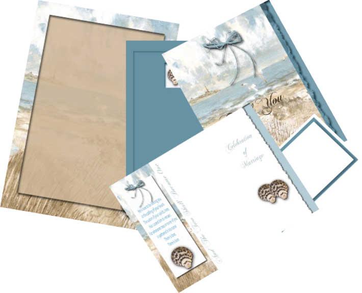 Free Printable Beach Wedding Invitation Templates 2017