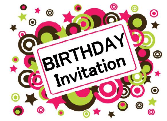 Free Printable Birthday Invitation Cards For Kids 2015