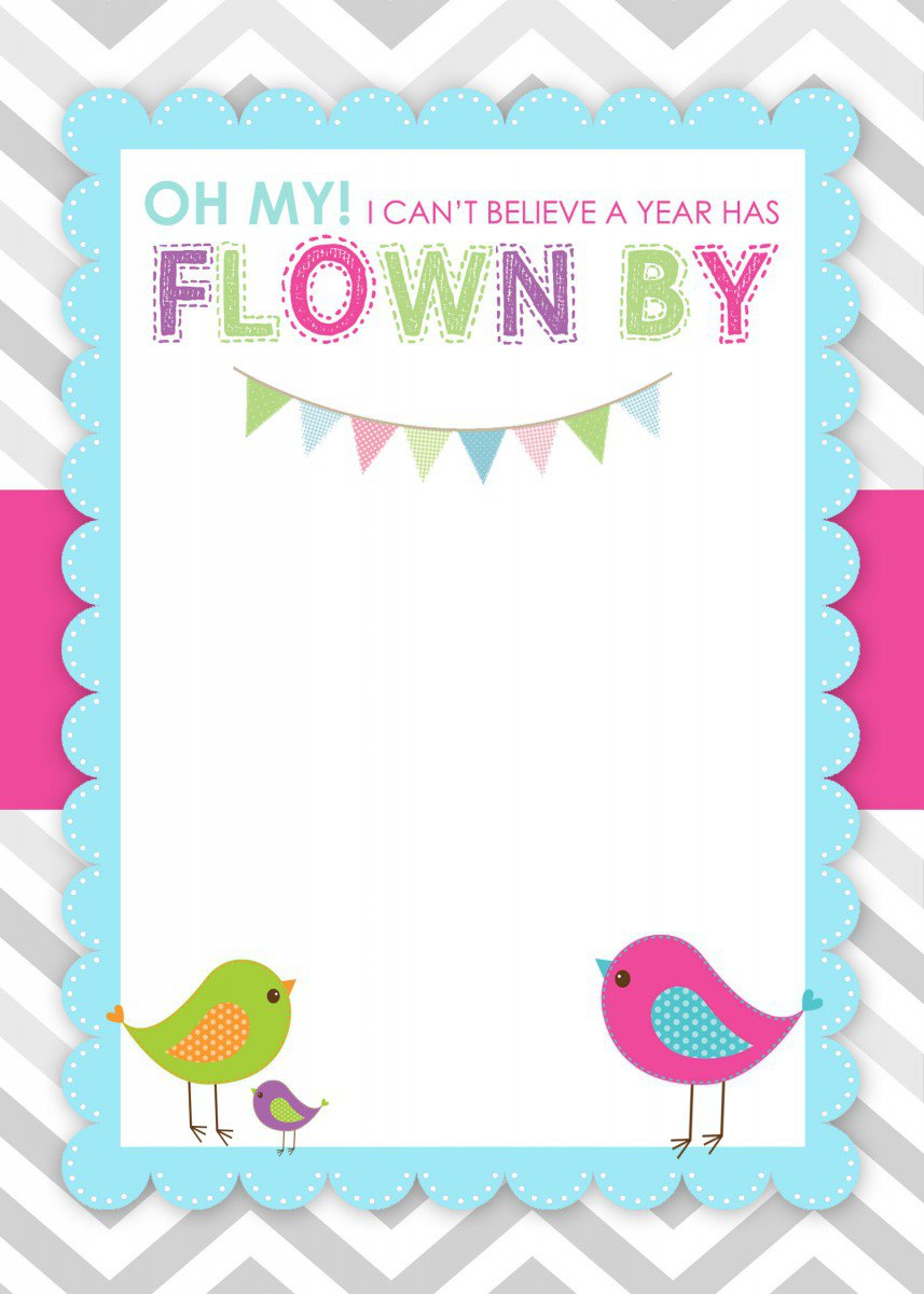 Free Printable Birthday Invitation Cards For Kids – Free Birthday Template Invitations