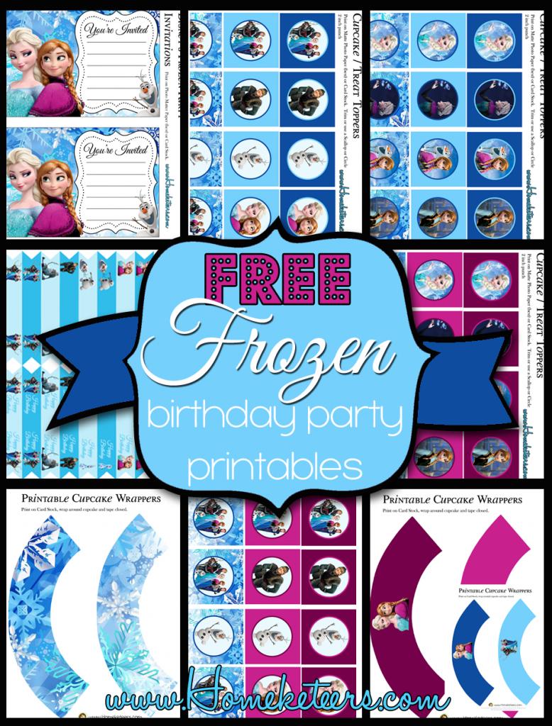Free Printable Birthday Invitation Kits