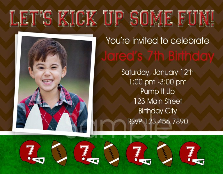 Free Printable Birthday Invitations Boys Soccer 2015