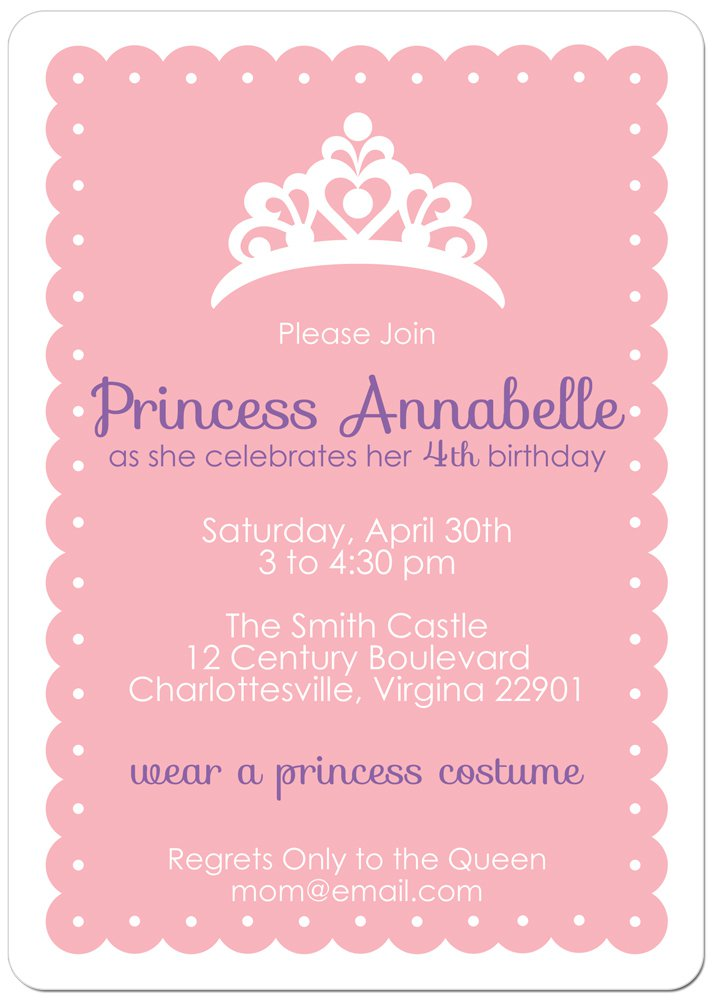 Disney Princess Party Invitations was good invitations layout