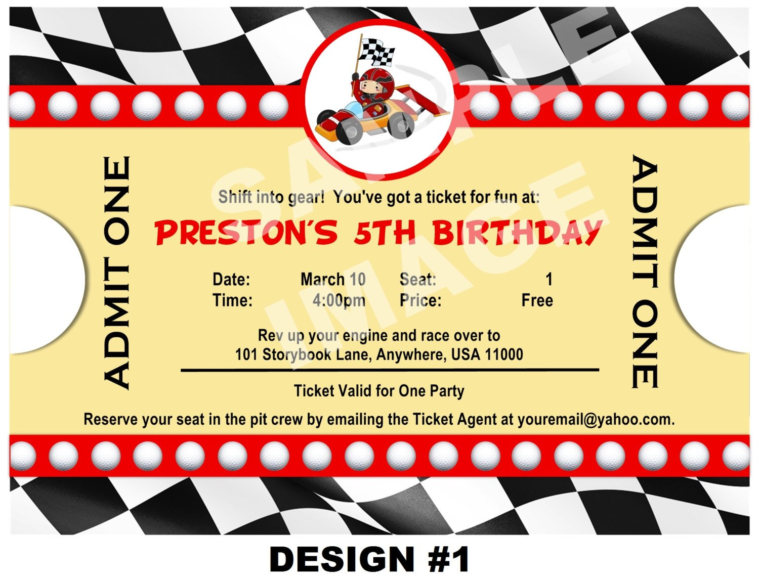 Cars Invitation Card Template Free: Free Printable Birthday Invitations Cars