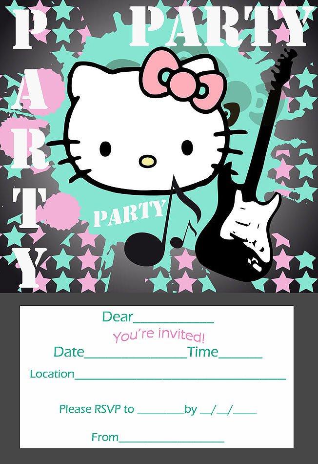 Free Printable Birthday Invitations Slumber Party