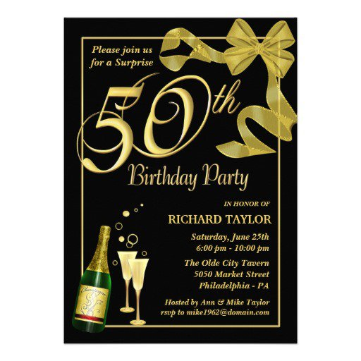 Free Printable Birthday Party Invitations For Men 2017