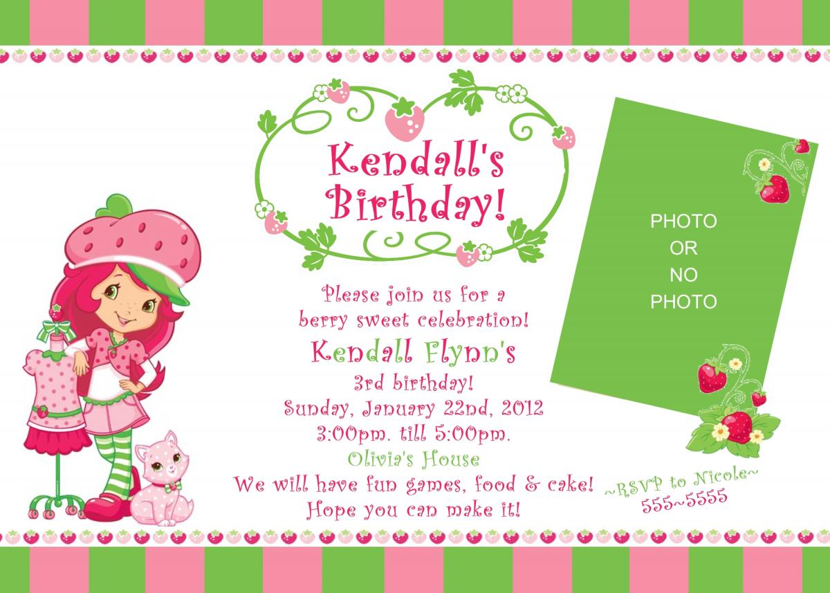Free Printable Blank Birthday Invitation Templates