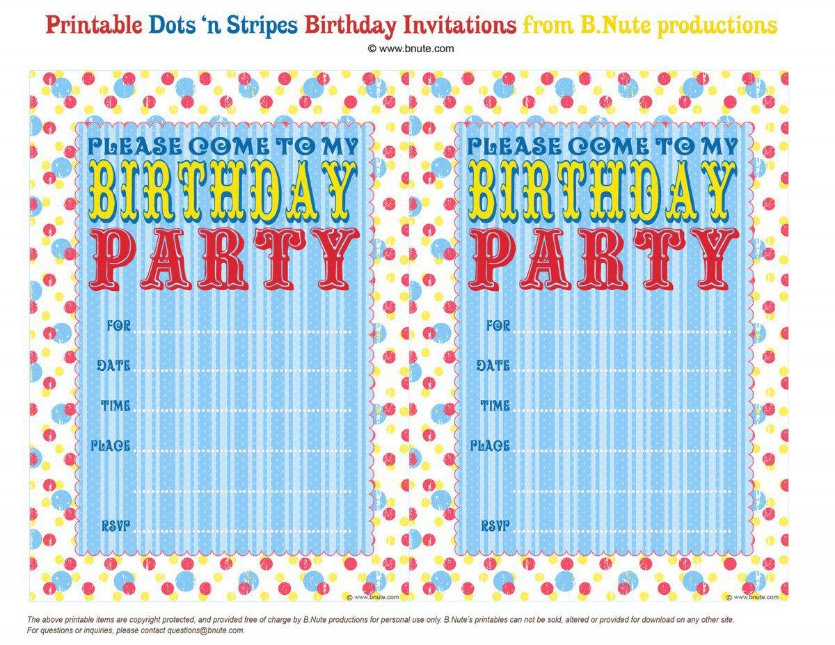 Free Printable Bowling Birthday Invitations 2016