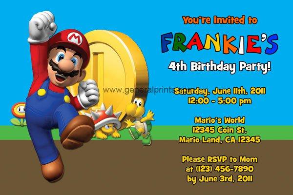 Free Printable Boys Birthday Invitations Cards 2016