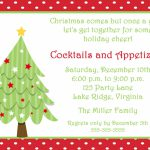 Free Printable Christmas Invitations Cards