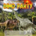 Free Printable Dinosaur Invitations For Kids