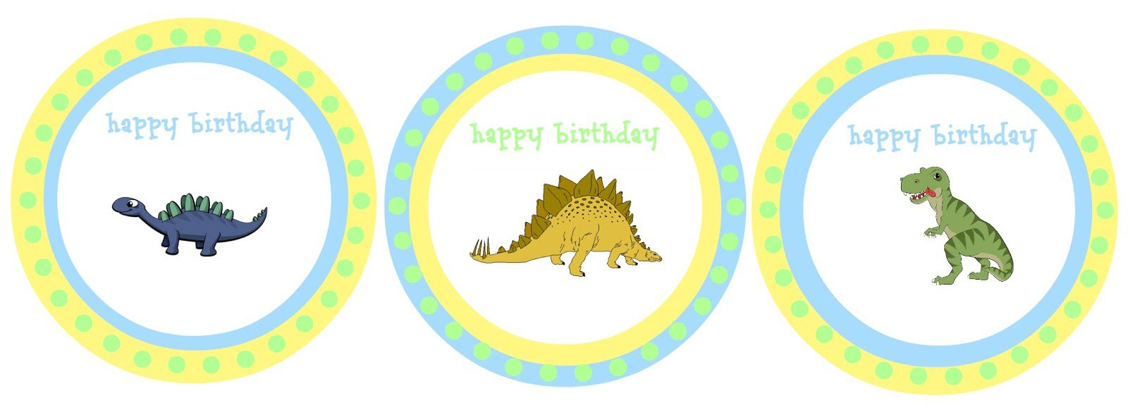 Free Printable Dinosaur Party Decorations
