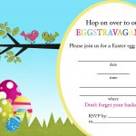 Free Printable Easter Egg Hunt Invitation Templates