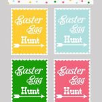 Free Printable Easter Egg Hunt Invitation Templates 2018