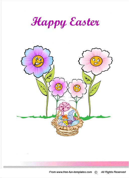 Free Printable Easter Invitation Templates