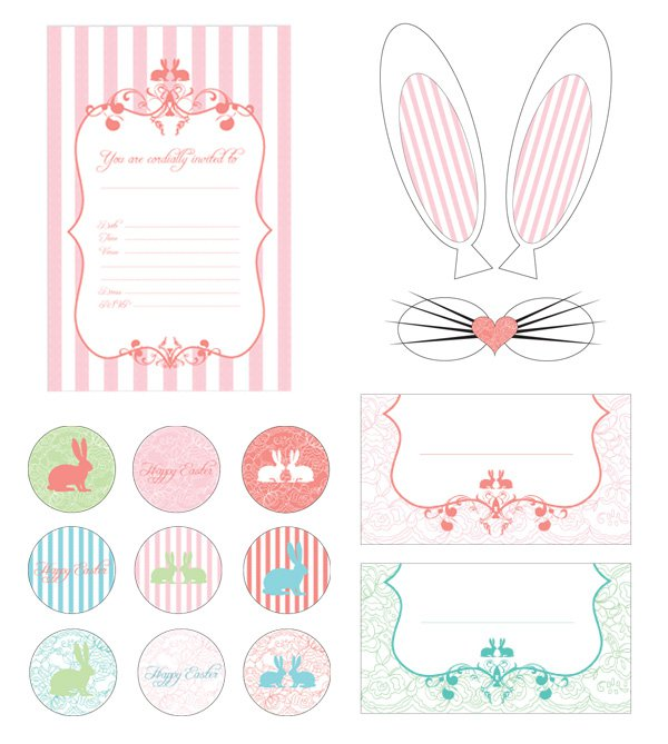 Free Printable Easter Party Invitations 2018