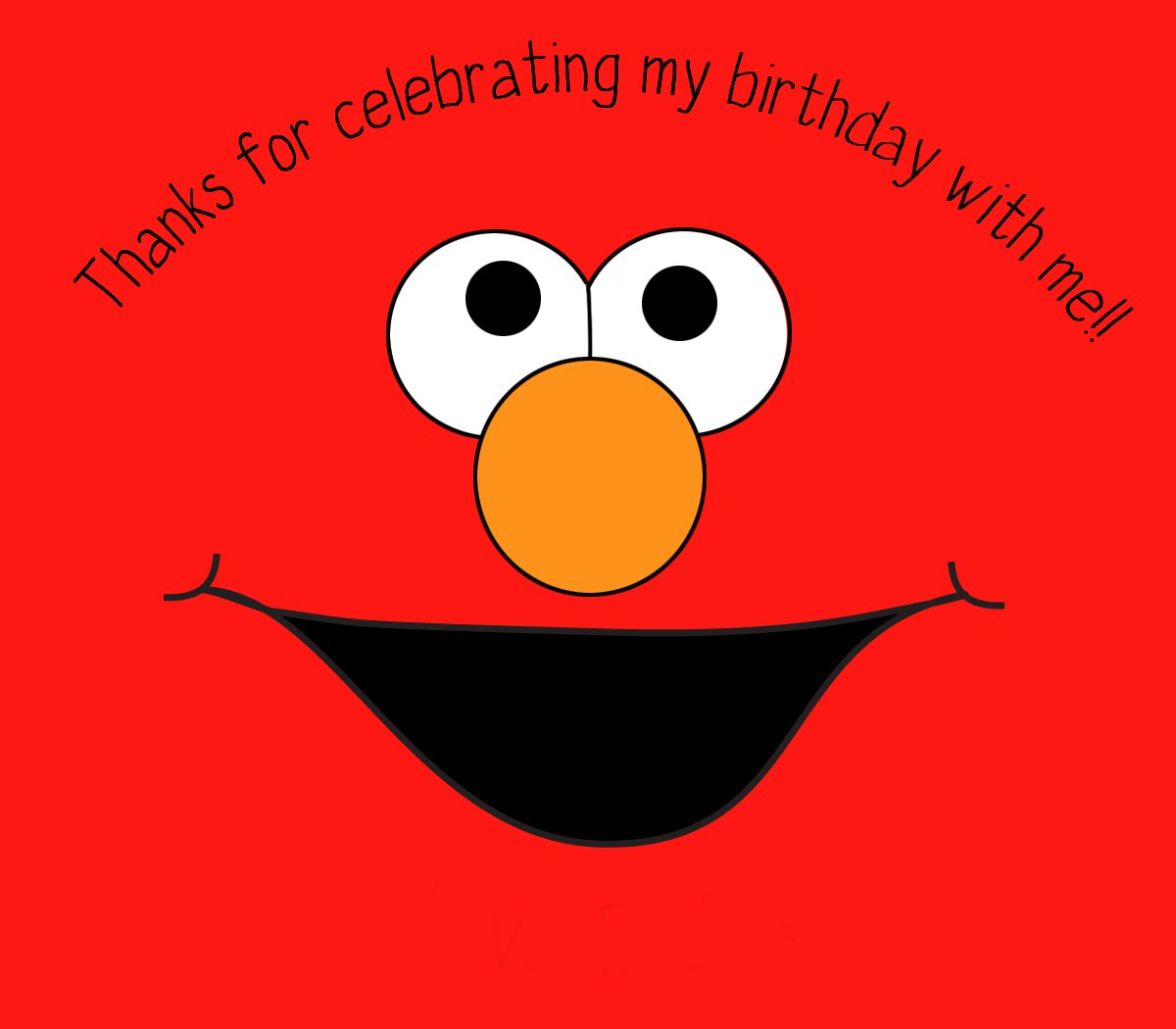 Free Printable Elmo Birthday Invitations Template 2016