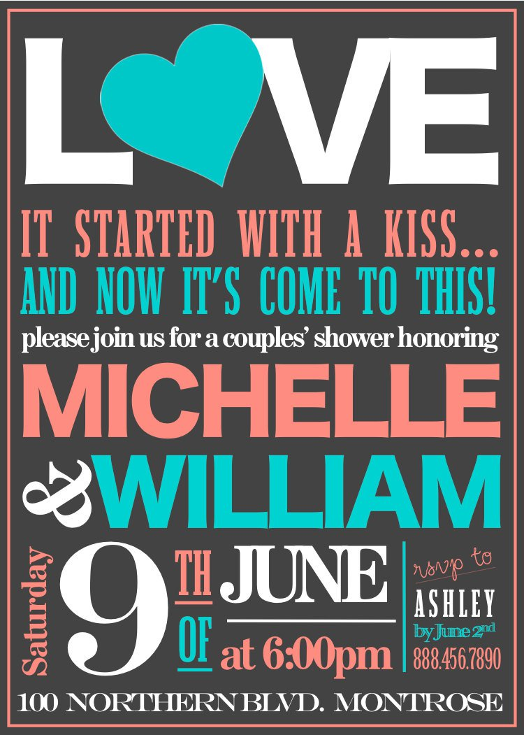 Free Printable Engagement Party Invitations