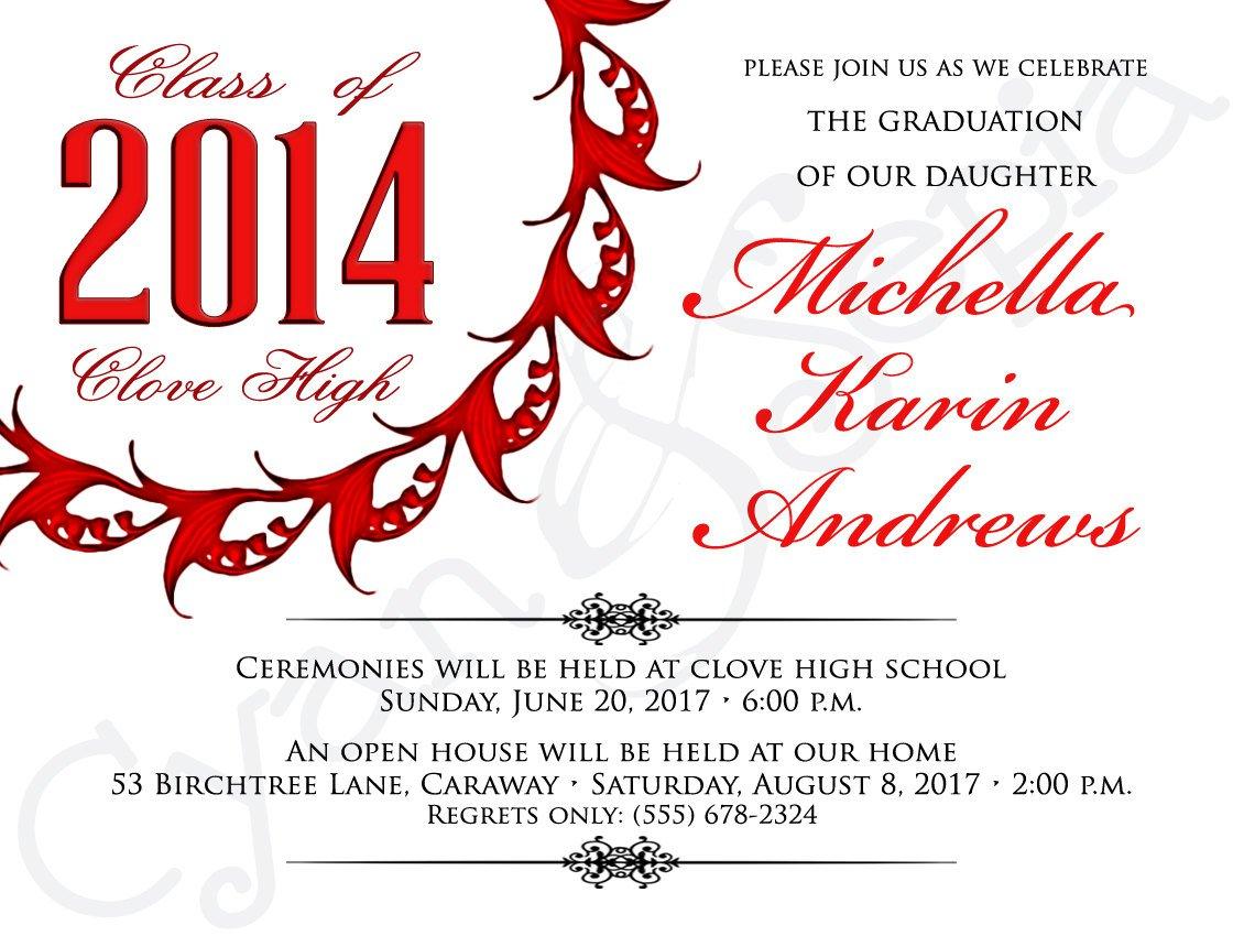 Free Printable Graduation Invitation Templates 2012