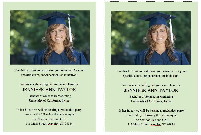 Free Printable Graduation Invitation Templates 2013 2015