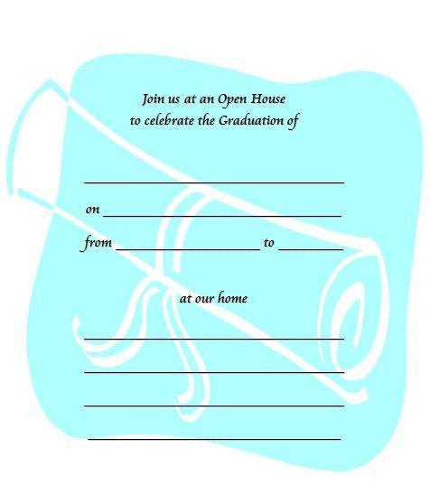 Free Printable Graduation Invitation Templates 2013 2016