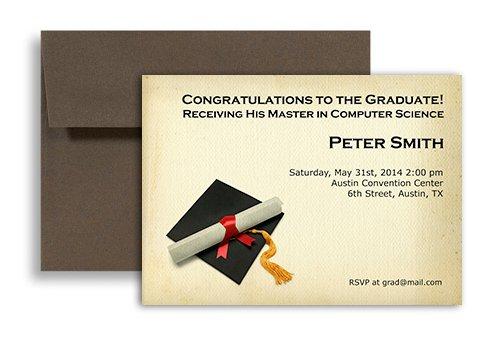Free Printable Graduation Invitation Templates 2013 2018